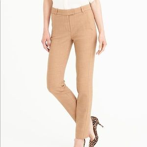 J. Crew Maddie Full Length Trouser Cotton Stretch